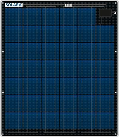 80W Solara Marine Panel M-Series