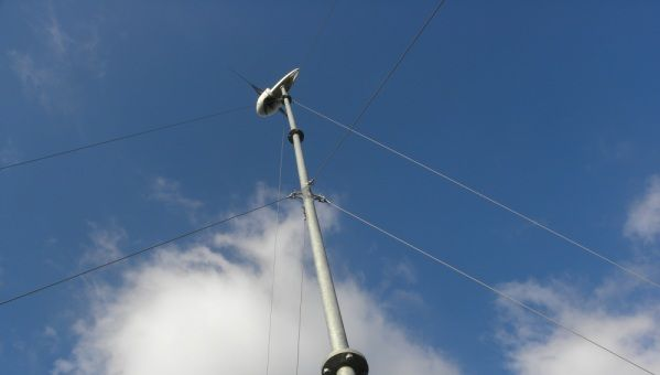 Wind Turbine 9m Guyed Tower Kit & Mast Sections