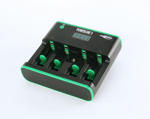 Ansmann Powerline 5 Zero Watt Battery Charger