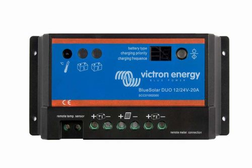 Victron Blue Solar DUO Charge Controller - 12/24V-20A