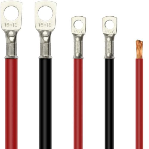 Flexible PVC Battery Cable 10 sq.mm (AWG 7 approx.) 70A Rating