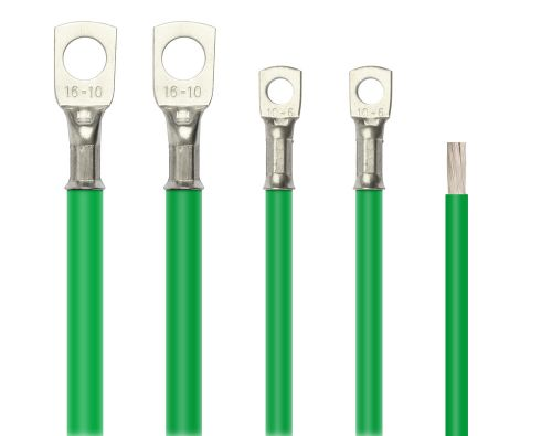 OceanFlex Tinned Marine Cable Green 10mm.sq 8AWG