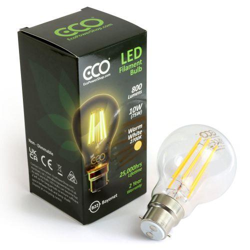 ECO 75W LED Vintage Light Bulb B22