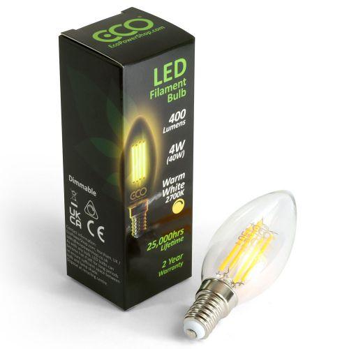 ECO Dimmable LED Candle Bulb E14