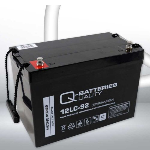 Q-Batteries 12LC-92 AGM Battery – 12v 93ah (C20hr)