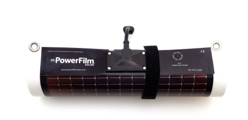 PowerFilm 14W Flexible Solar Panel Rolled Up