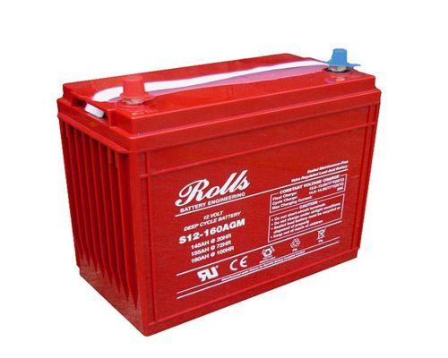 Rolls Solar AGM Series 5 12V Deep Cycle Battery - 161Ah (C100) 131Ah (C10)