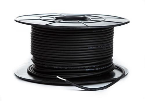 6.0mm Sq. Tinned DC Solar Cable - BLACK