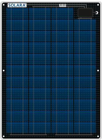 41W Solara Marine Solar Panel M-Series