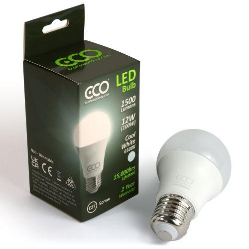 ECO 100W Daylight LED Light Bulb, E27 Screw
