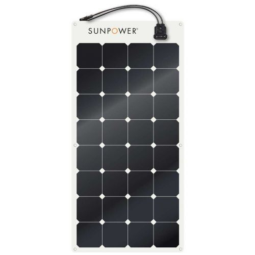 SunPower 110W Flexible Marine Solar Panel