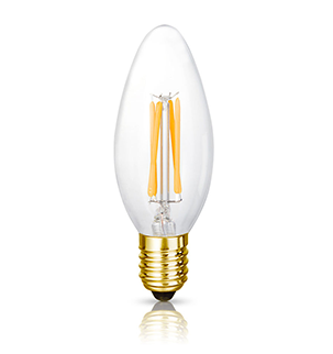 The Elizabeth LED Filament Candle Bulb | Bright Goods