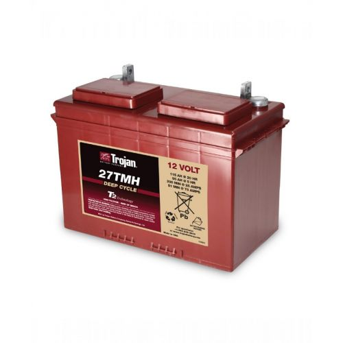 Trojan 27TMH 12V Deep Cycle Flooded (Wet) Lead-Acid Battery