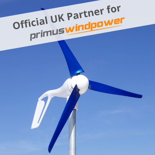 AIR Silent X Turbine with UK Partner Banner