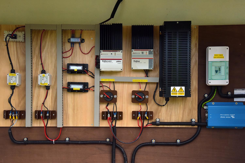 Off Grid System Set up