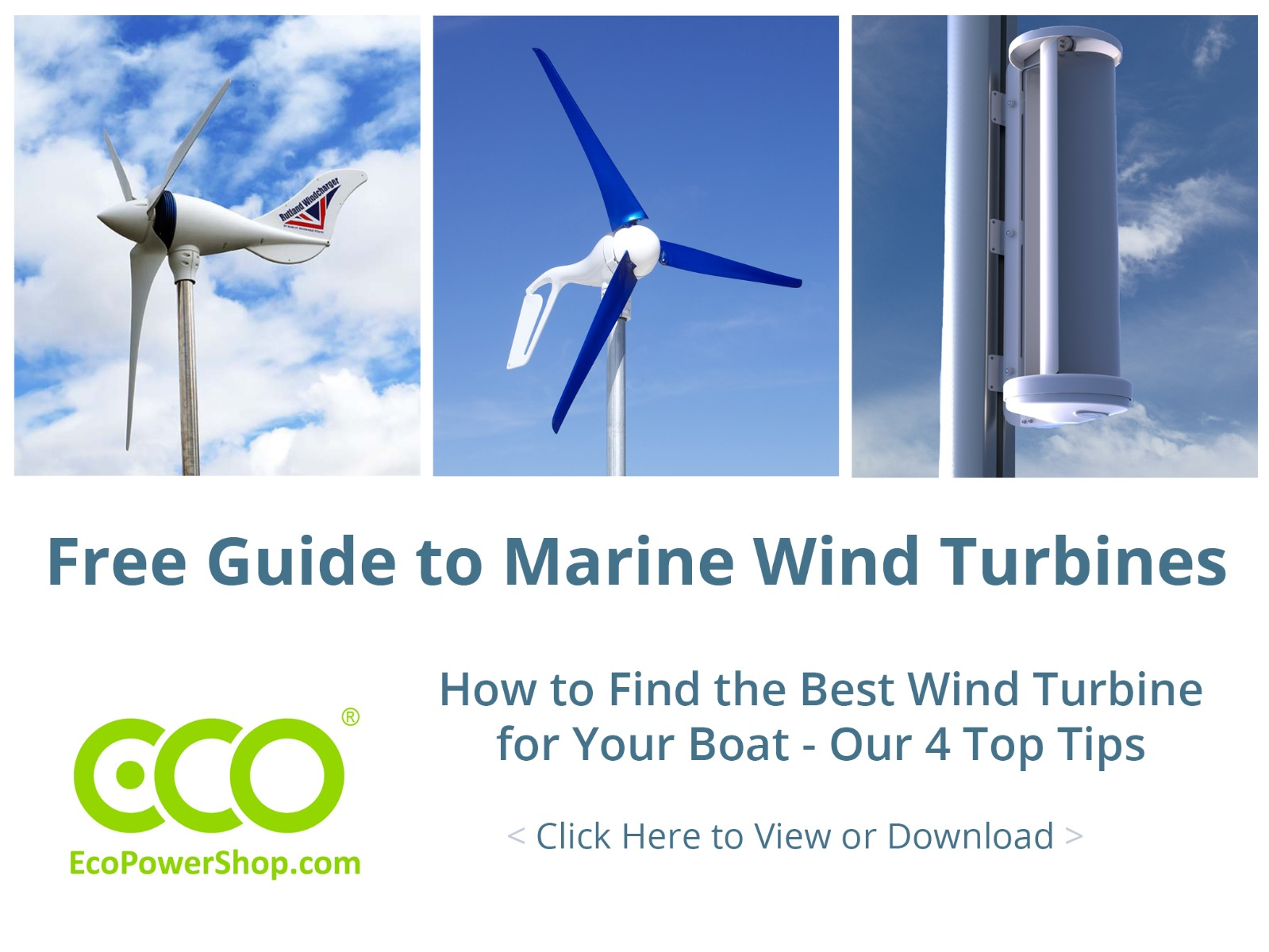 Link to Marine Wind Turbine Guide