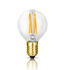 The Rose Mini Globe LED Filament Bulb | Bright Goods
