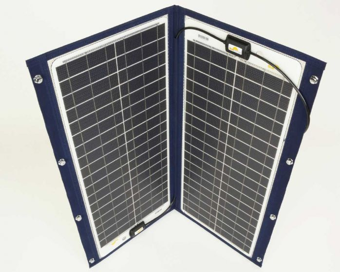 SunWare TX 22039 76W Bimini and Sprayhood Solar Panel