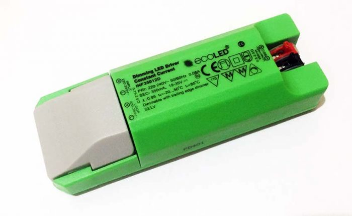 EcoLED 18W 350mA Constant Current Dimming LED Driver