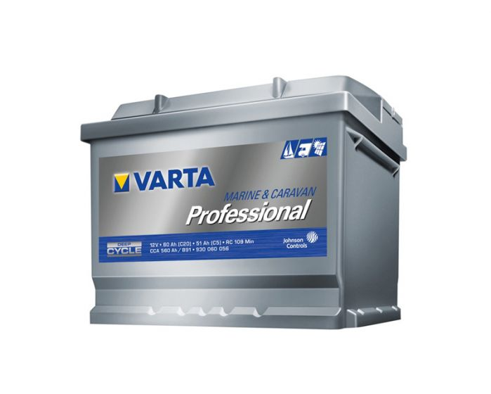 Varta Professional Dual Purpose 12V Sealed Battery - 60Ah (C20)