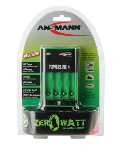 Ansmann Powerline 4 Zero Watt Battery Charger