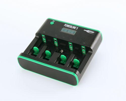 Ansmann Powerline 5 Zero Watt Battery Charger