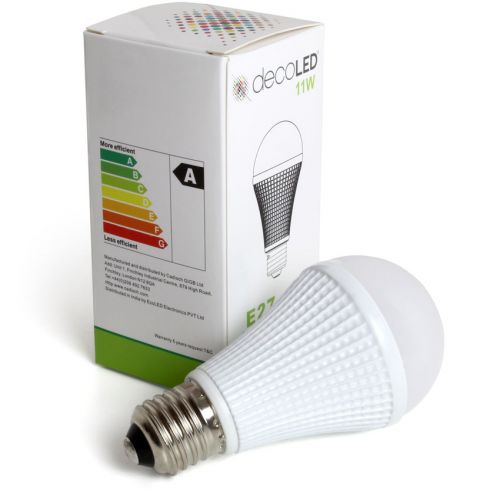 EcoLED 11W Dimmable E27 Screw Cap LED Light Bulb