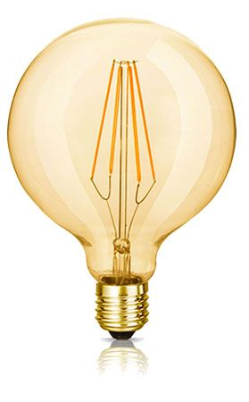 The Florence LED Filament Globe Bulb | Bright Goods