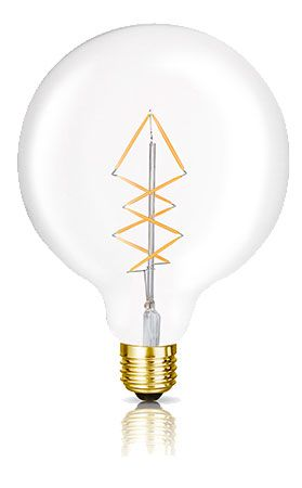 The George LED Filament Globe Bulb | Bright Goods