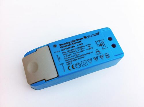 EcoLED 18W 1050mA Constant Current Dimming LED Driver