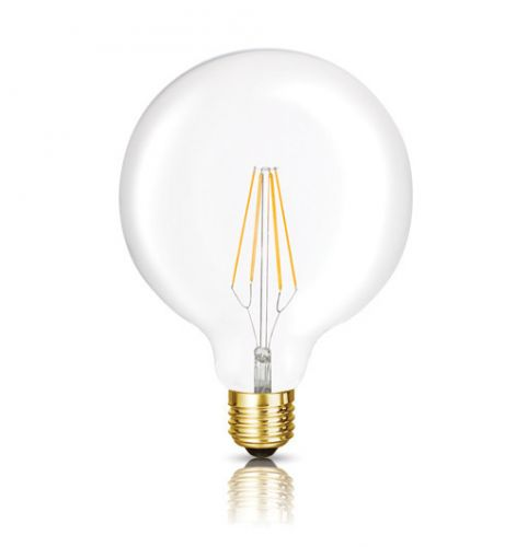 The Edward LED Filament Globe Bulb by Bright Goods