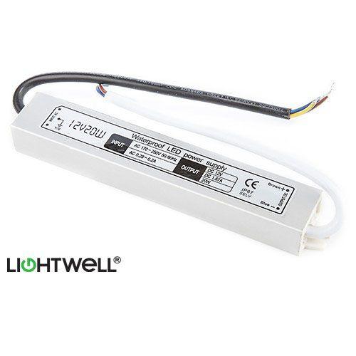 Lightwell LightBar LED Transformer/ Driver for Powering 12 Volt LED Lighting - Non Dimmable