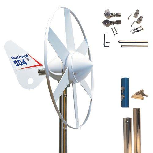 Rutland 504 Wind Turbine Mounting Pole 1.35m Stays Kit 9