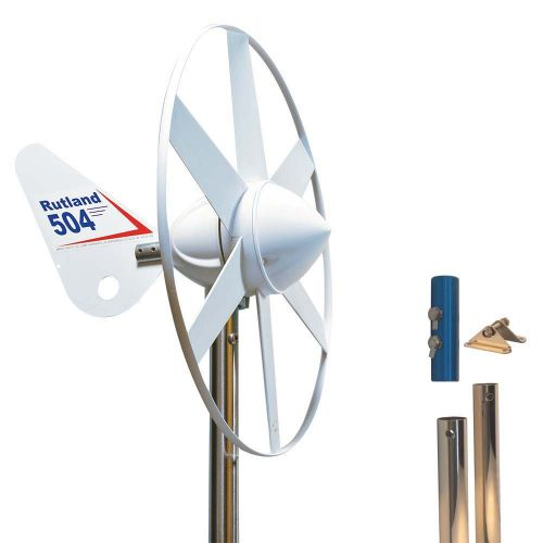 Rutland 504 Wind Turbine with Mounting Pole Kit 4