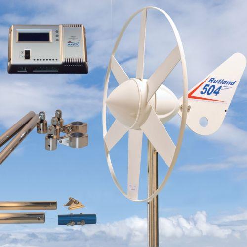 Rutland 504 Wind Turbine HRDi Mounting Pole 1.35m Stays Kit 11