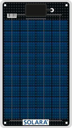 12W Solara Marine Solar Panel M-Series