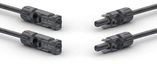Stäubli Multi Contact MC4 Twin Pack - 2x Male and 2x Female Solar Cable Coupler