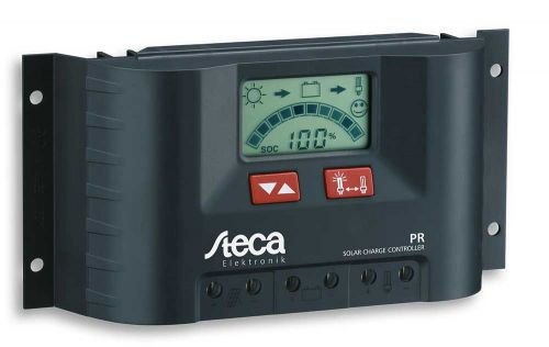 Steca PR2020 Solar Charge Controller 12/24V 20A with LCD Display