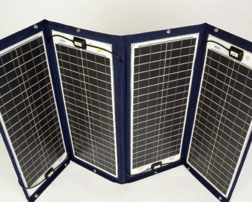 SunWare TX 42039 152W Bimini and Sprayhood Fold-Out Solar Panel