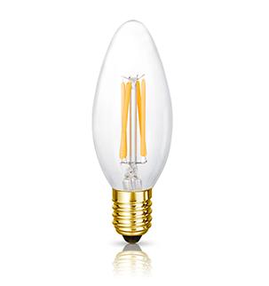 The Elizabeth LED Filament Candle Bulb | Bright Goods
