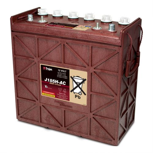 Trojan J185H-AC 12V Deep Cycle Flooded (Wet) Lead-Acid Battery
