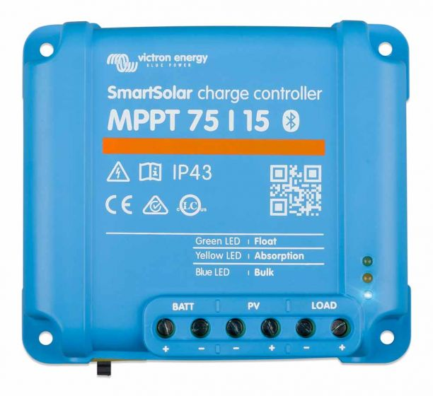 Victron Smart Solar MPPT 75/15 Charge Controller